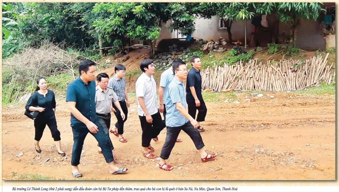 Bộ Trưởng Bộ Tư pháp Lê Thành Long: Công việc của Ngành Tư pháp thầm lặng nhưng đóng góp thiết thực cho phát triển của đất nước