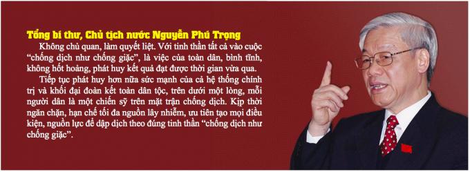 """Việt Nam trước đại dịch Covid-19: """"CHỐNG DỊCH NHƯ CHỐNG GIẶC"""""""