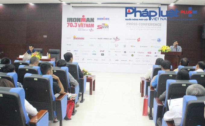 Ban tổ chức giải công bố nhiều điểm mới tại IRONMAN 70.3 Việt Nam năm 2017.