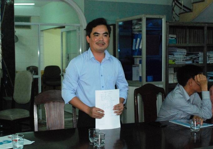 Ông Hồ Sỹ Thái, đại diện cho nhà đầu tư đồng ý để các cổ đông nhận chuyển nhượng số cổ phần đã mua của COSEVCO lại cho CICO.