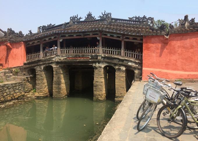 Chùa Cầu được xem như là biểu tượng của phố ổ Hội An.