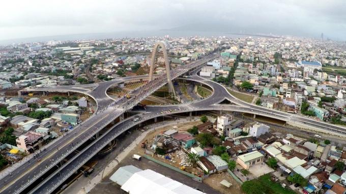 Công ty CP Trung Nam vẫn chưa nhận được khoản tiền2.050 tỷ đồng sau khi hoàn tất xây dựng Nút giao thông Nga ba Huế.