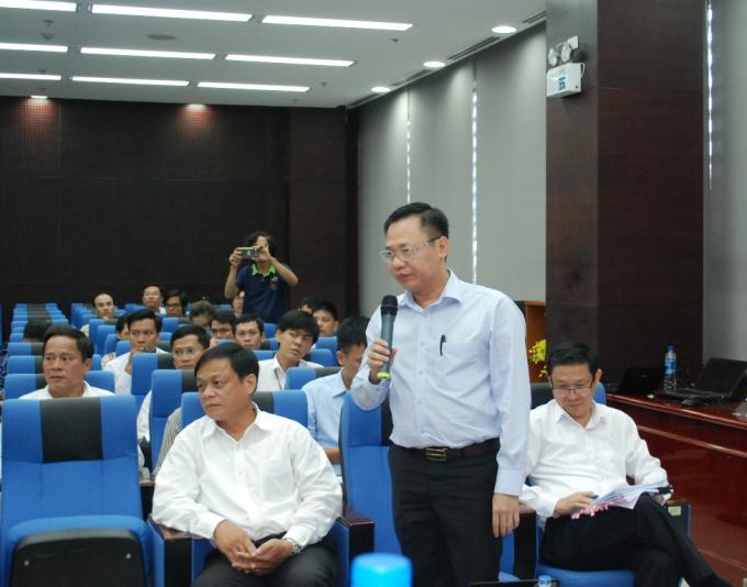Ông Vũ Quang Hùng, Giám đốc Sở Xây dựng Đà Nẵng.