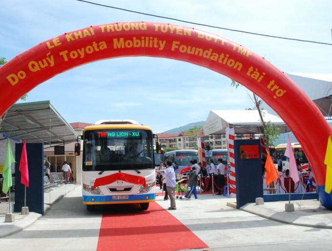 Tuyến xe bus TMF miễn phí 1 năm đầu, phục vụ tuyến nội đô thành phố