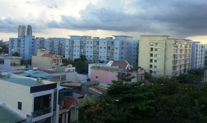 Khu chung cư thu nhập thấp nhận sổ hồng của Vicoland tại khu vực quận Sơn Trà.