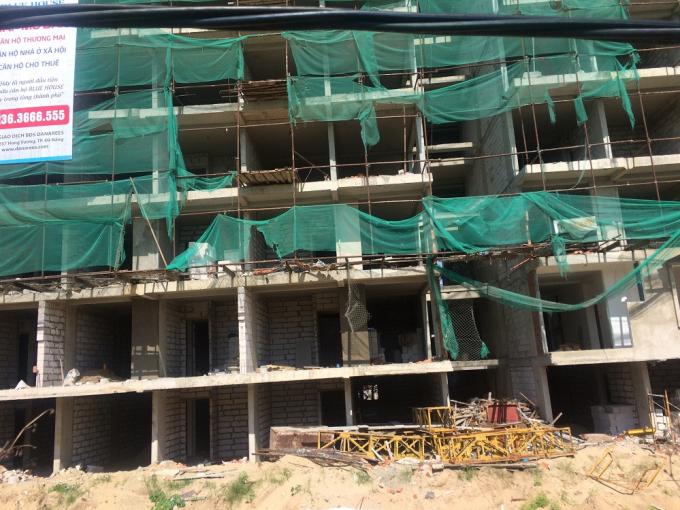 Hình ảnh ngổn ngang của dự án đang bị TP Đà Nẵng