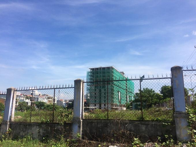Hình ảnh dự án nhìn từ xa.