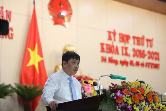 Trưởng Ban tuyên giáo Thành ủy, phó Chủ tịch thường trực UBND TP Đà Nẵng Đặng Việt Dũng