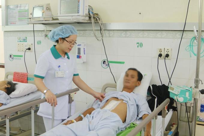 Bệnh nhân H. kịp thời được cứu sống sau khi vỡ phình động mạch chủ bụng.