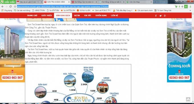 Công ty địa ốc Minh Trần cam kết việc dùng tên thương mại vẫn có phần ghi chú và tất cả các hợp đồng đều dùng tên gốc là The Summit At Son Tra để khách hàng được biết. Nhưng trên website tuyệt nhiên không nhắc một chữ nào đến dự án The Summit cho khách hàng, nhà đầu tư biết.