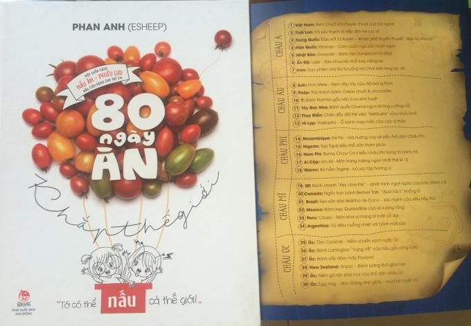 Cuốn sách nấu ăn - phiêu lưu đầu tiên dành cho độc giả nhí từ 7 đến 14 tuổi.