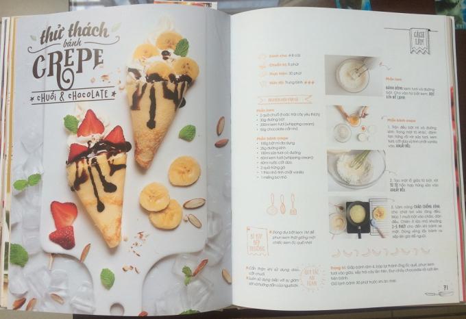 30 món ăn từ 5 châu lục được Phan Anh Esheep giới thiệu trong cuốn sách.