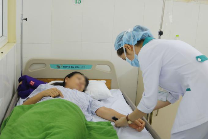 Hiện chỉ còn 1 bệnh nhân nằm điều trị tại bệnh viện.