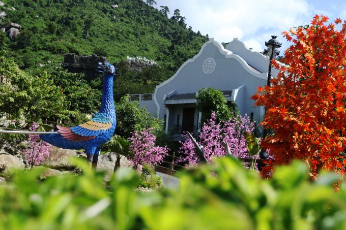 Khung cảnh tuyệt đẹp tại Núi Thần Tài trong Lễ hội giao lưu văn hóa Việt - Hàn.