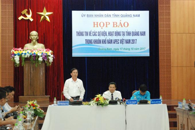 Tỉnh Quảng Nam tổ chức nhiều hoạt động trước thềm Tuần lễ cấp cao APEC 2017.