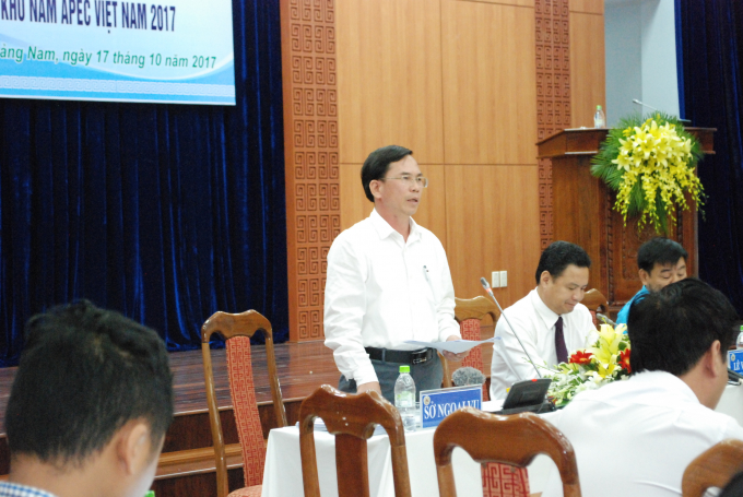 Giám đốc Sở Ngoại vụ tỉnh Quảng Nam chia sẻ các hoạt động sẽ diễn ra trong thời gian tới.
