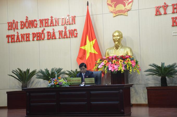 Ông Nguyễn Xuân Anh vắng mặt trong phiênbất thường HĐND TP Đà Nẵng.