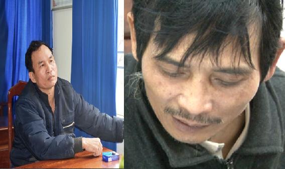 Đối tượng Xá (trái) là đồng phạm của Hùng (phải). Ảnh: CAQN.