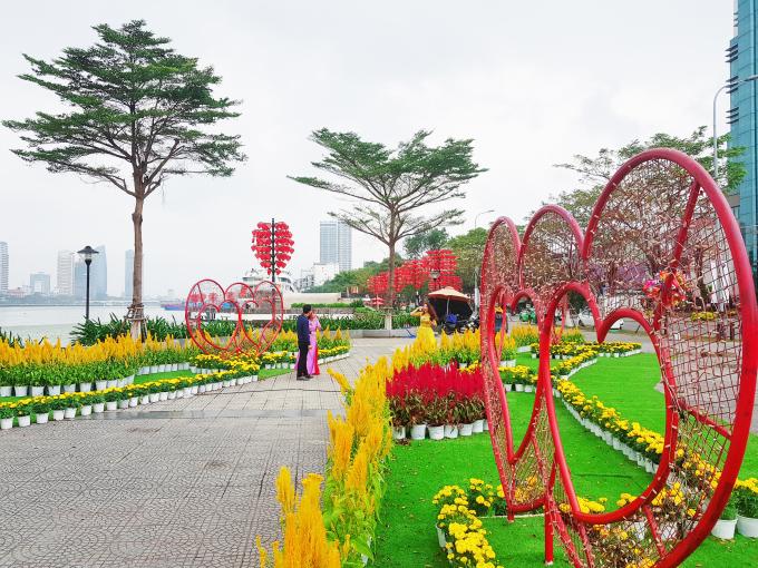 Thời tiết Đà Nẵng khá lý tưởng trong những ngày cuối cùng của năm cũ.