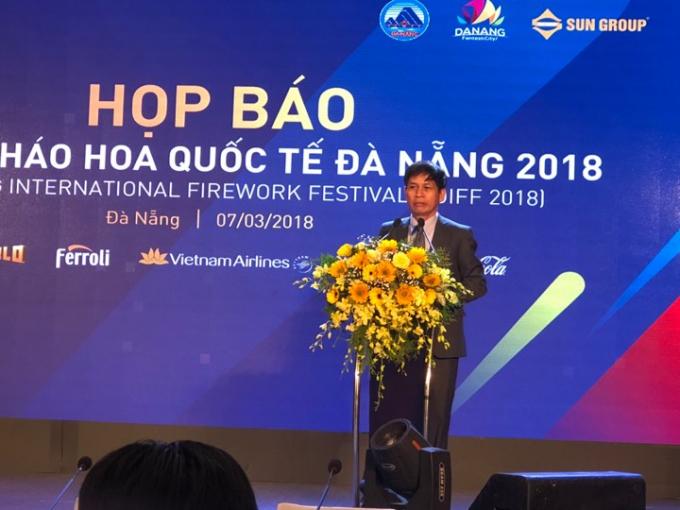 Ông Huỳnh Văn Hùng - Giám đốc Sở Văn hóa - Thể thao TP Đà Nẵng.