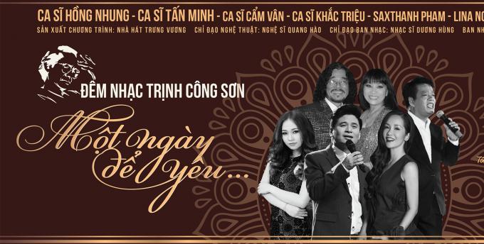Đêm nhạc ý nghĩa tưởng nhớ 17 năm ngày mất củacố nhạc sĩ Trịnh CôngSơn.