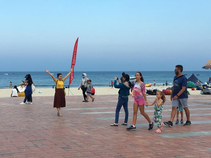 Đà Nẵng trở thành điểm đến yêu thích trong thời điểm nghỉ lễ năm nay.