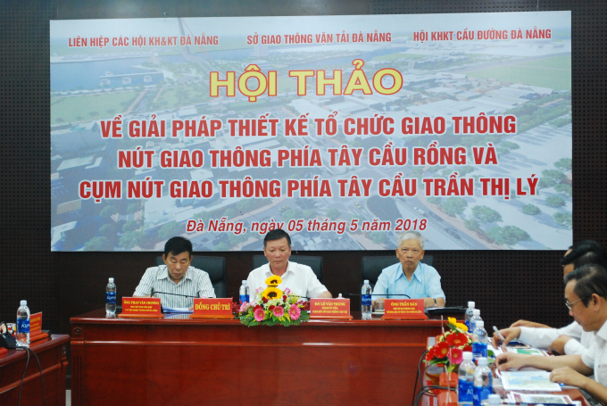 Hội thảo liên quan giải quyết ùn tắc giao thông tại TP Đà Nẵng trong tương lai.