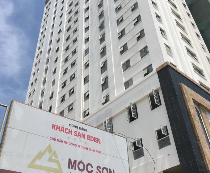Các phòng đã hoàn thành việc tháo dỡ và bít lối đi phát sinhkhách sạn Eden là 64/93 phòng.