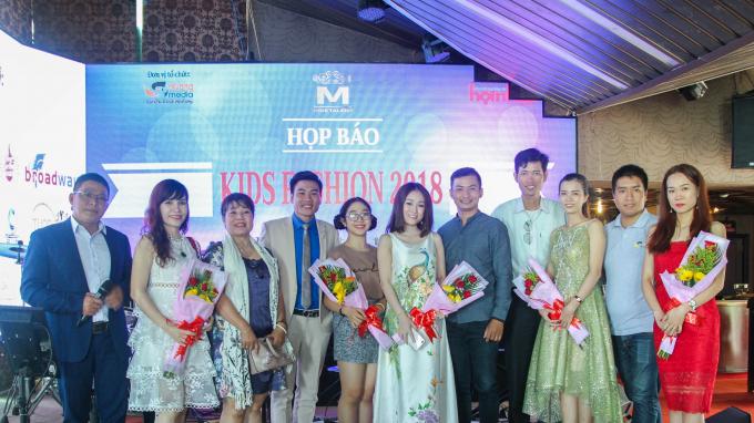 Ban tổ chức, Ban giám khảo chương trình Kids Fashion 2018.