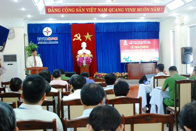 Điện lực Đà Nẵng chính thức phát động tháng cao điểm đảm bảo an toàn, PCCN.