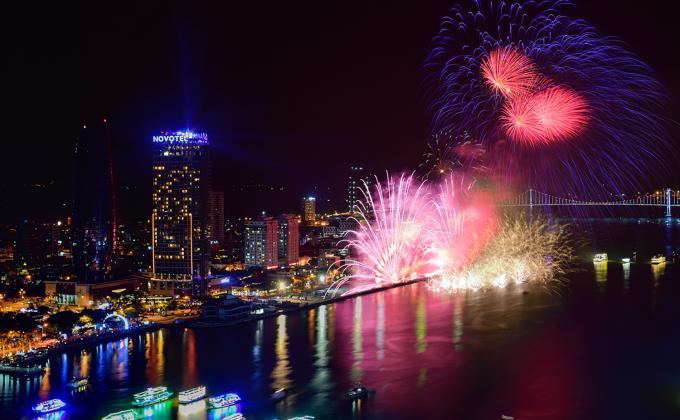 Bầu trời Đà Nẵng sẽ tiếp tục bừng sáng trong bữa tiệc pháo hoa và âm nhạc.
