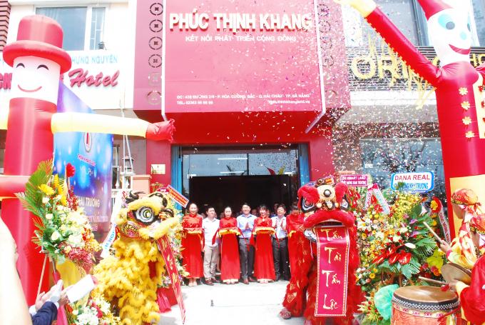 Phúc Thịnh Khang ra mắt thương hiệu tại thị trường BĐSmiền Trung.