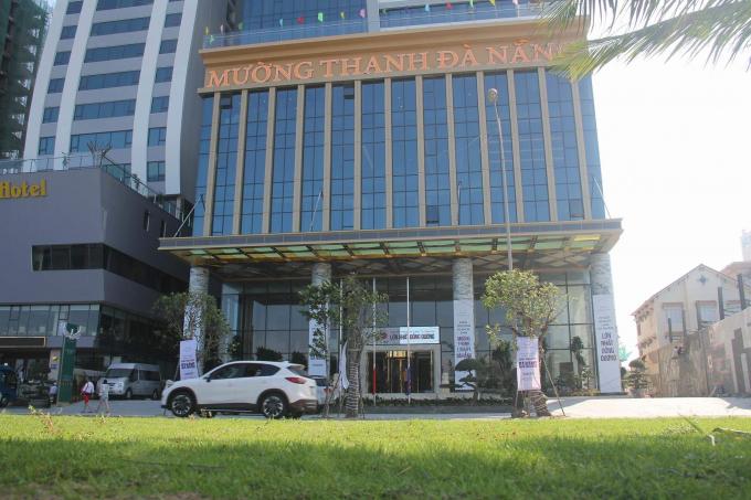 Tổ hợp Khách sạn và Căn hộ cao cấp Sơn Trà nằm từ tầng 2 đến tầng 5 Mường Thanh Luxury.