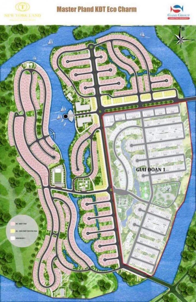 Toàn cảnh dự án Khu đô thị Eco Charm Đà Nẵng.