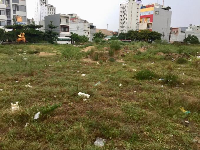 Khu đất 4.500 m2 mà chính quyền Đà Nẵng đã từng đồng ý chủ trương cho doanh nghiệp đầu tư.