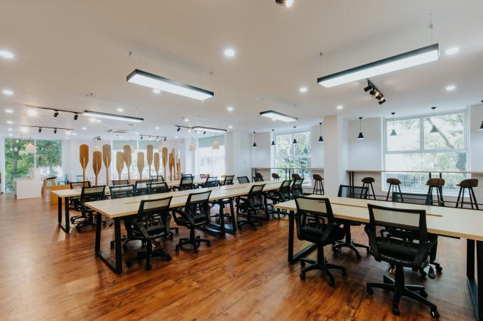 Vườn ươm doanh nghiệp Đà Nẵng (DNES) khai trương Không gian làm việc chung (Coworking space) thứ hai mang tên SURFSPACE.