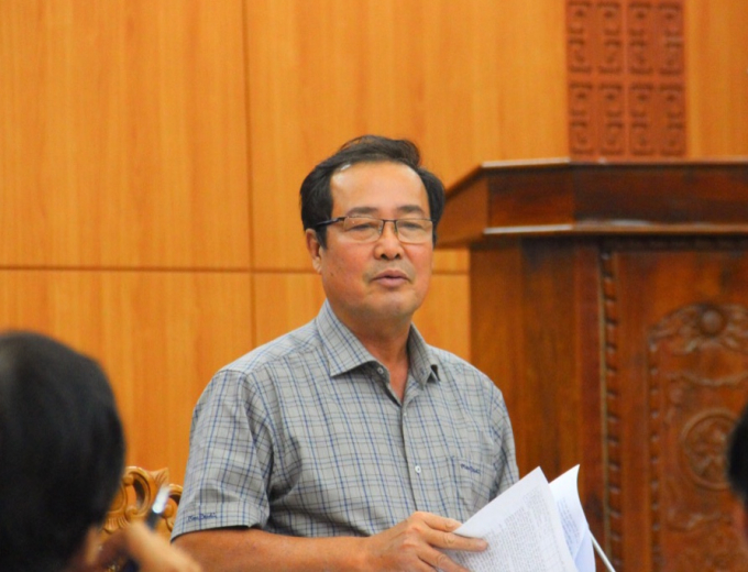 Phó chủ tịch UBND tỉnh Quảng Nam Huỳnh Khánh Toàn.