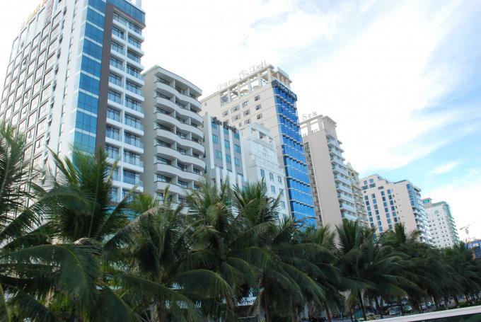 Cơ sở lưu trú du lịchchủ yếu tập trung ở các quận Sơn Trà, Hải Châu, Ngũ Hành Sơn.