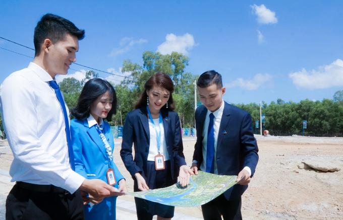 Thành công của dự án Eco Lake tạo tiền đề để Đất Xanh Bắc Miền Trung triển khai dự án khu đô thị Eco Town.