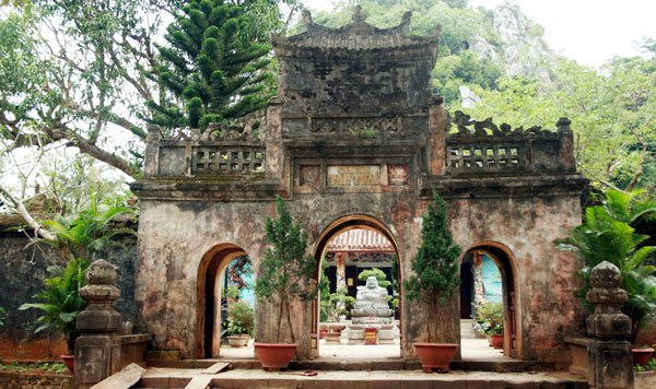 Chùa Tam Thai, một trong 2 ngôi chùa được phong Quốc tự ở danh thắng Ngũ Hành Sơn.