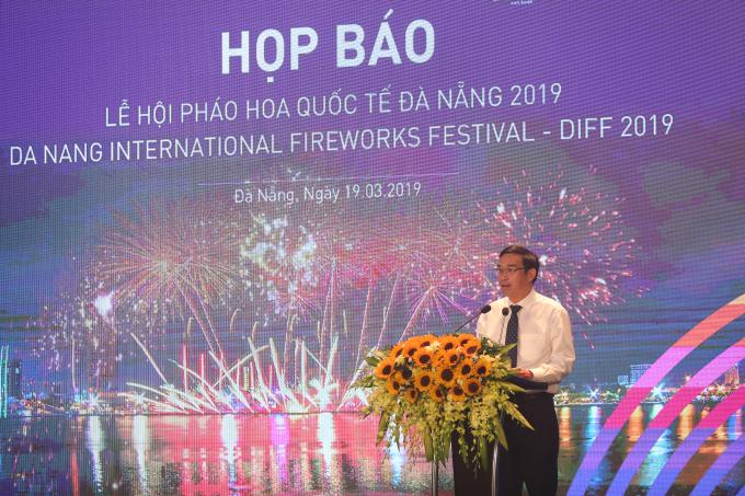 Ông Lê Trung Chinh – Phó chú tịch UBND thành phố Đà Nẵng, Trưởng ban tổ chức, phát biểu.