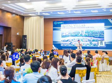 Dự án Royal Villas nằm mặt tiền sông Cổ Cò của tỉnh Quảng Nam.