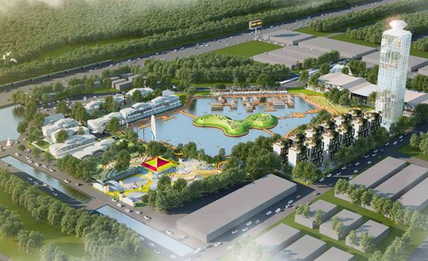 Công viên giải trí CX3 sắp được khởi công tại khu đô thị An Vân Dương Huế.