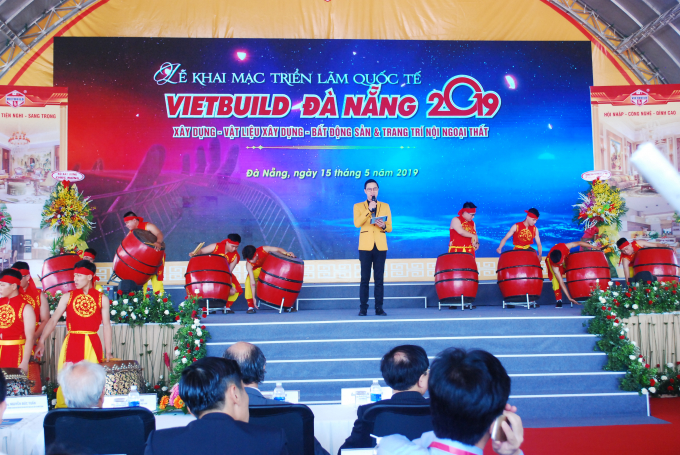 Khai mạc triển lãm quốc tế Vietbuild diễn ra sáng 15/5 tại Đà Nẵng