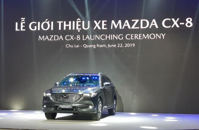 THACO giới thiệu xe Mazda CX-8.