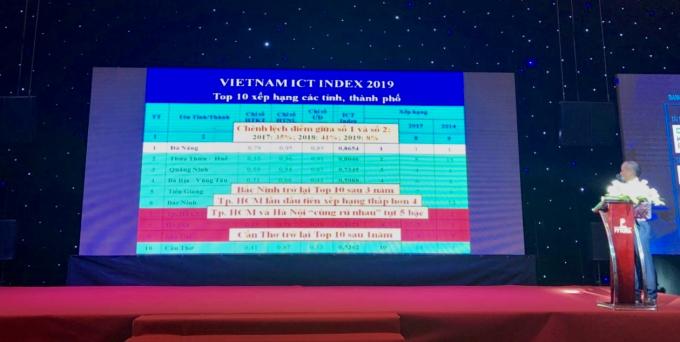 Công bố Bảng xếp hạng Vietnam ICT Index năm 2019