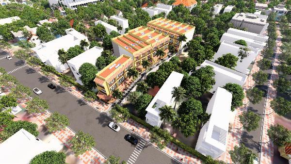 Có thể xem các dự án tại quận Ngũ Hành Sơn là điểm nóng tại thị trường BĐS Đà Nẵng vào lúc này.