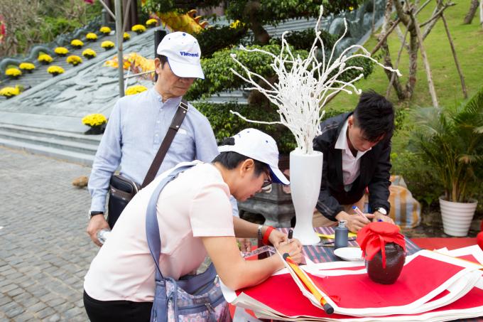 Khu vực Công viên Suối khoáng nóng Núi Thần Tài là 1 trong nhiều địa điểm được du khách, người dân Đà Nẵng lựa chọn để du xuân.