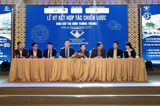 Đơn vị phát triển Trung Tín Land ký kết hợp tác chiến lược với các sàn: