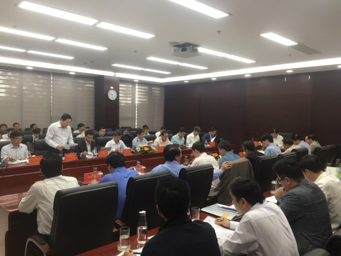 Lãnh đạo Tổng Công ty Truyền tải điện Quốc gia (EVNNPT) đã báo cáo Phó Thủ tướng Chính phủ về tiến độ thi công.